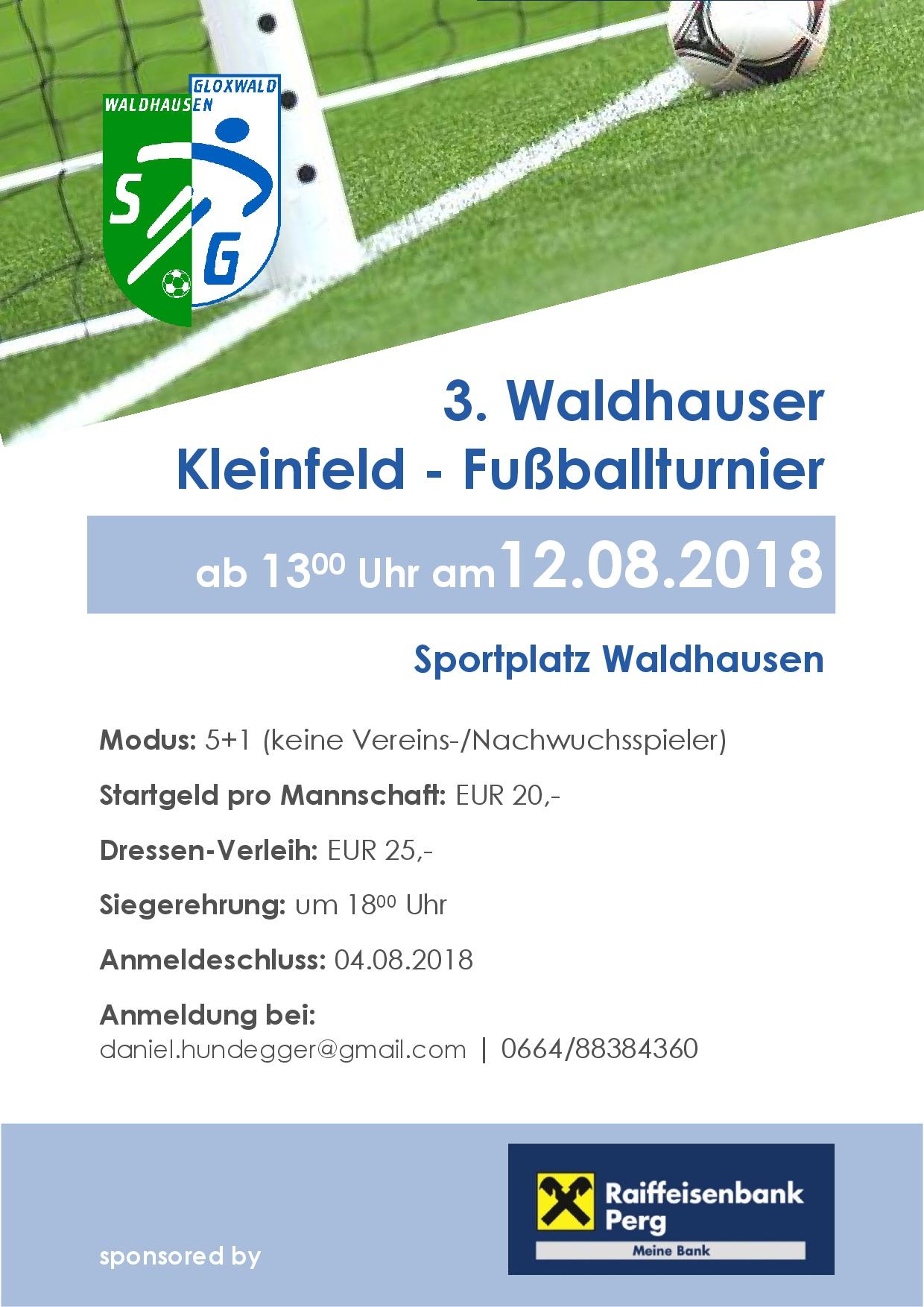 Folder Kleinfeldturnier '18